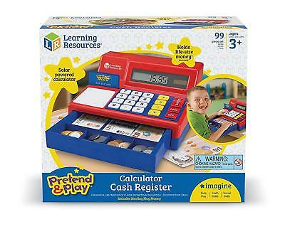 Learning Resources Cash Register with Canadian Currency Dollar Kids Children Fun