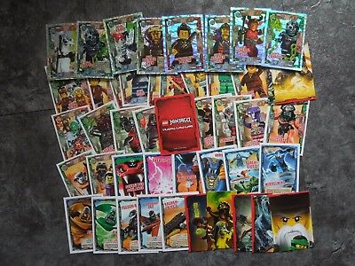 Lego Ninjago Trading Card Game Serie 2 -  35 Basis + 8 Spezial Karten Lot