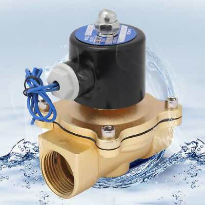 DC12V R1 DN25 Normal Closed Zinc Alloy Electric Water Valve for Water Air Oil SG