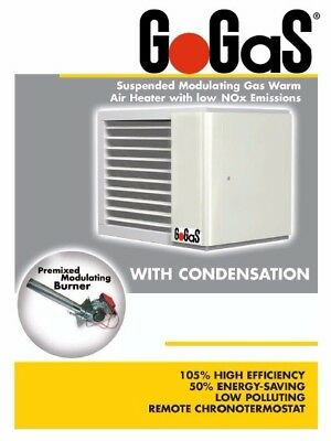 GoGasUk.com gas commercial warm air heater  Brochure