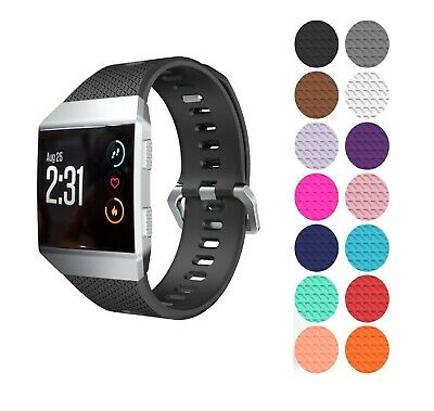 FitBit Ionic Strap Replacement Band Classic Metal Buckle Wristband Accessory