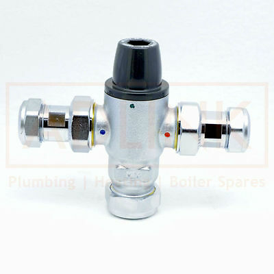 Mixing Valve Thermostatic Fail Safe 15mm  Mixcal Careflo by Altecnic AE.521215