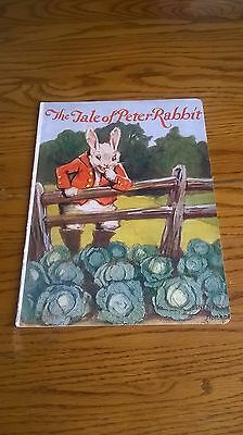 The Tale Of Peter Rabbit, 1928, Linentex, Rare Children's Book, Antique, Vg!