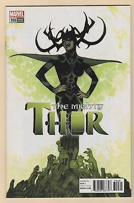 Mighty Thor 700 - Adam Hughes 1:100 Hela Variant NM or better - Ready to CGC
