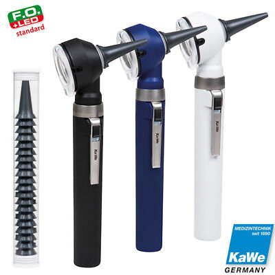 Otoscope KaWe PICCOLIGHT F.O. LED 2.5V with battery handle in cloth bag