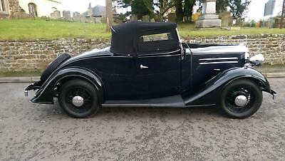 1935 Vauxhall Light Six 2 Door 4 Seater Roadster with coachwork by Duple