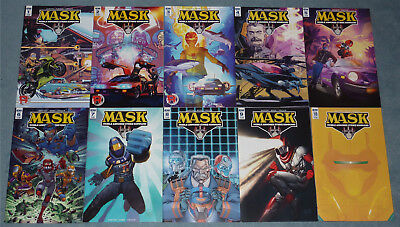 Us M.a.s.k. # 1 - 10 + Special # 1 Komplettset New Series The Return Of Mask Idw