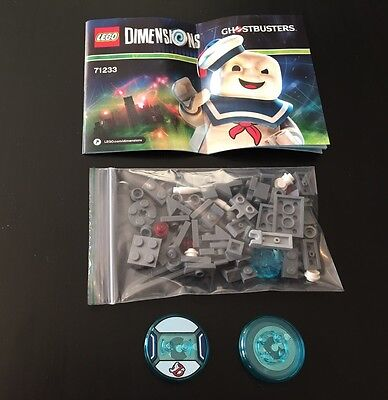 Lego Dimensions Ghostbusters Terror Dog&driver Disks Split From Fun Pack:71233