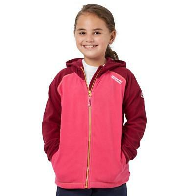Regatta Girls' Upflow Fleece Outdoor Clothing Pink