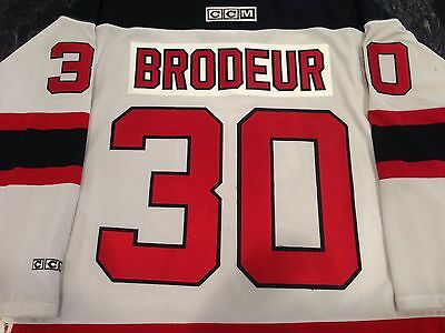 602bf8b54 VTG Authentic New Jersey Devils Martin Brodeur NHL Hockey Jersey Tags NWT  White