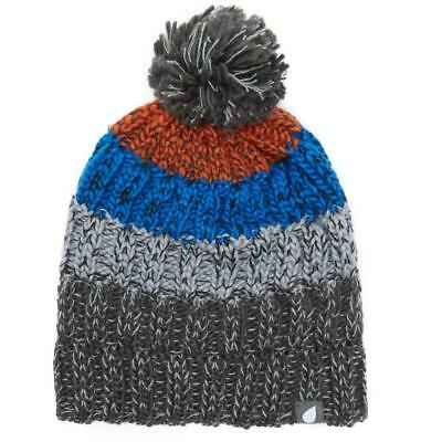 New Peter Storm Boys' Striped Bobble Beanie Outdoor Clothing
