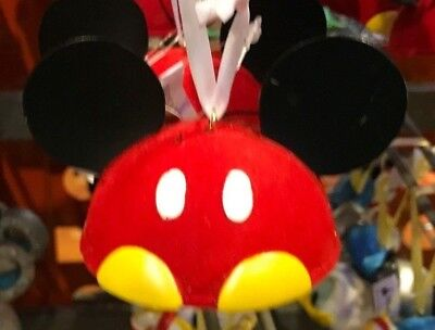 Disney Parks Mickey Mouse Original Christmas Ears Ornament NEW WITH TAGS 2017