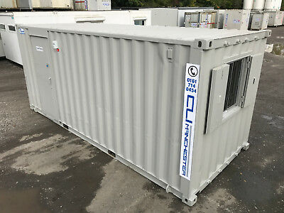 20ft x 8ft - Anti Vandal Canteen | Office | Security Hut | Drying Room