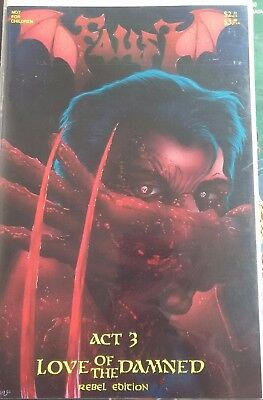 Faust Act 3 Love Of The Damned Rebel Edition Adult Readers VGC