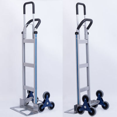 Aluminum Stair Climber Hand Truck Convertible Commercial Quality Dolly Cart 550