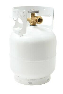 5 LB Pound Steel Propane Tank Refillable 1 Gallon Cylinder with OPD Valve