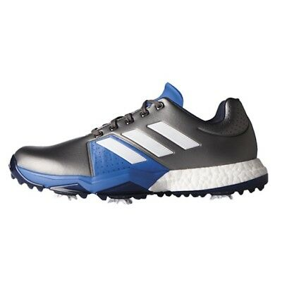 ddc19524b88340 New Mens Adidas Adipower Boost 3 Grey Golf Shoes Q44758-Q44764 -Pick Size
