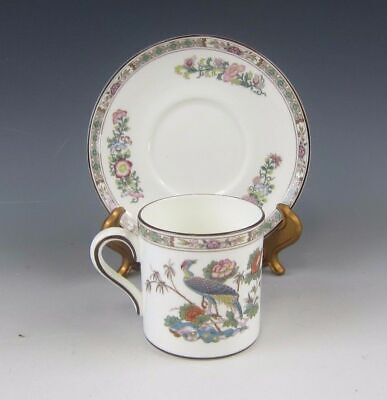 Wedgwood China KUTANI CRANE Demitasse Cup and Saucer Set(s) EXCELLENT