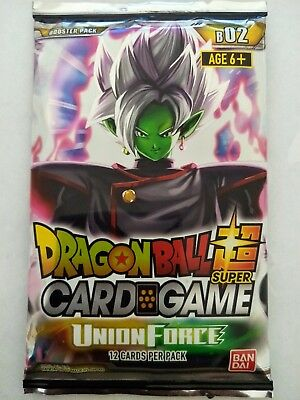 Dragon Ball Super Card Game Union Force Booster Pack (12 Cards per Pack)