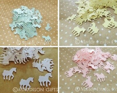 Unicorn Paper Craft Embellishments Card Making Scrapbooking Party Decorations