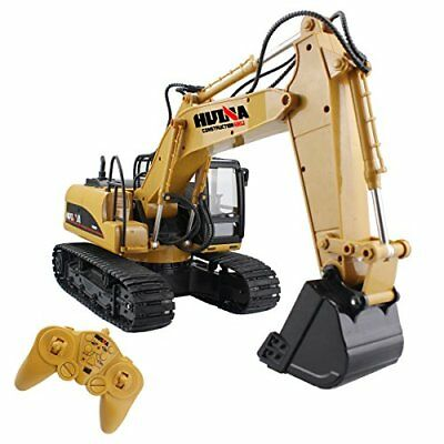 Remote Control Excavator Crawler Tractor Construction Full Function 15 Channel