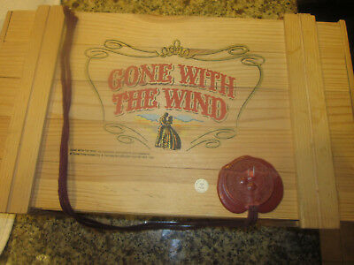 Gone with the Wind Polonaise Collection Kurt A. Adler Glass Ornament Wooden Box