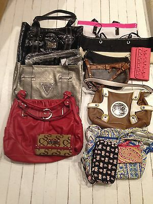 Lot of Guess, Vera Bradley, Purse Wallet Handbag! 11 items, some NEW with tag!