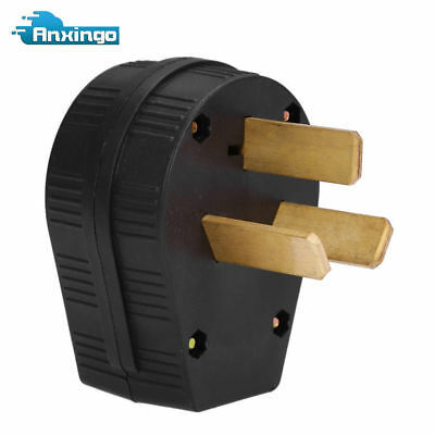 50 amp 220 Volt 3 prong plug Replacement Electrical RV Welder 220V 2.95inch NEW
