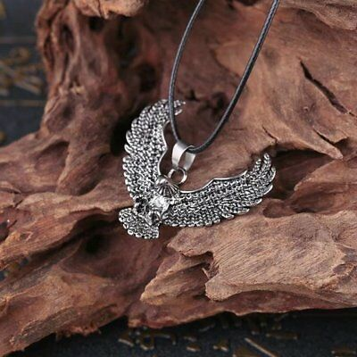 High Quality Stainless Steel The Eagle Design Pendant Womens Men's Cool Necklace