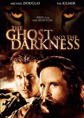 The Ghost and the Darkness - Val Kilmer, Michael Douglas - New