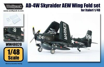 Wolfpack 1:48 AD-4W Skyraider AEW Wing Fold for Italeri Detail Set #WW48020