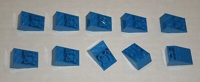 Blue Free p /& p 20 x New LEGO 3747 2X3 Inverted Slope 25°