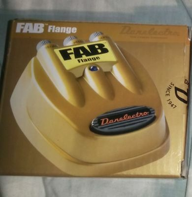 fab flange -  boxed - guitar effects pedal ideal xmas gift