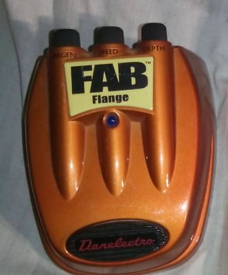 fab flange   - guitar effects pedal ideal xmas gift