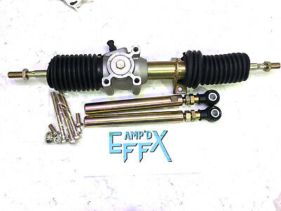 """H.D. RACK & PINION W/ TIE RODS ENDS 08-14 POLARIS RZR 800 for 50"""" trail steering"""