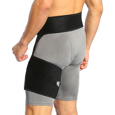 465c1de40e Yosoo Thigh Groin Support Compression Brace Hamstring Hip Injury Support  Sleeve