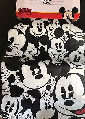 Disney Mickey Mouse Face Set of 2 Car Truck Rubber Floors Mats