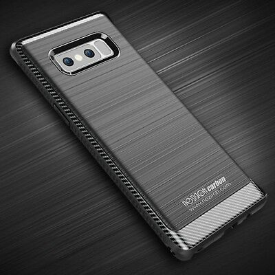 Samsung Note 8 Cover Case Shockproof Rugged Armor Noziroh Carbon Military Navy