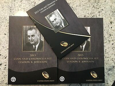 2015 Lyndon Johnson Coin and Chronicles Set - Reverse Proof $1 Coin