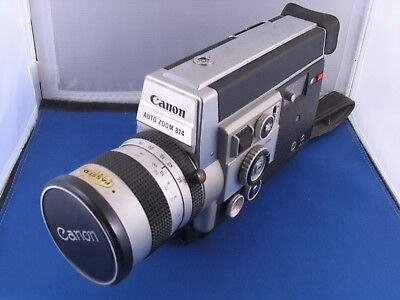 CANON AUTO ZOOM 814 SUPER 8 ,Vintage Movie Camera, Clean, Working, See Pics!!!