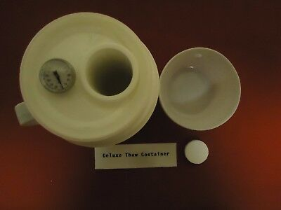 Deluxe Artificial Insemination Thaw Container