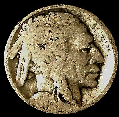 "1916-S 5C Buffalo Nickel, hs  ""Only 50 Cents for Shipping"""