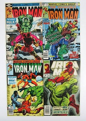 Iron Man #131 #132 #133 Iron Man vs Hulk Run + #305 Marvel Comics