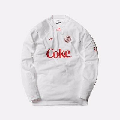 Kith Adidas Soccer L/S Jersey Coke Cobras Exclusive Collection Large