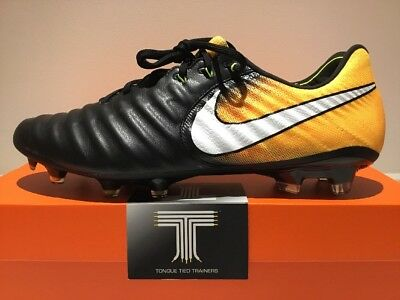 cheap for discount 515bd 4409f NIKE TIEMPO LEGEND VII FG ACC Flyknit ~ 897752 008 ~ Uk 9 ~ Euro 44