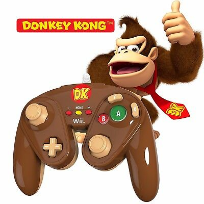 PDP Wired Fight Pad - Donkey Kong Nintendo Wii U