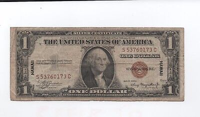 Series  1935 A Hawaii  (One  Dollar  Silver  Certificate)