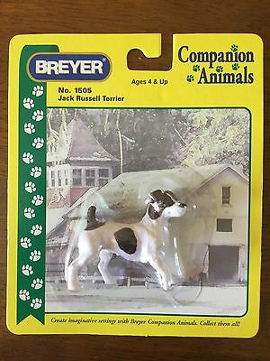 Breyer Jack Russell Terrier Companian Animal Dog NIB #1505