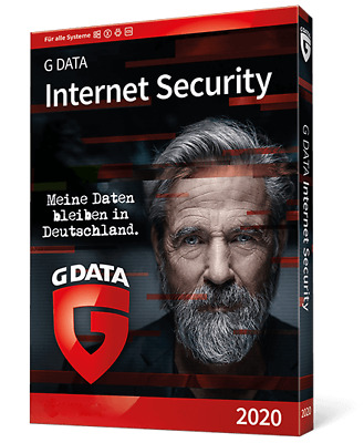 G DATA Internet Security 2018 1PC Deutsch - 12 Monate GData Vollversion