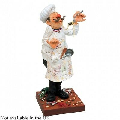 "Guillermo Forchino Pop Art  Figur mini  ""Cook-Koch"" H 23  FO84000"